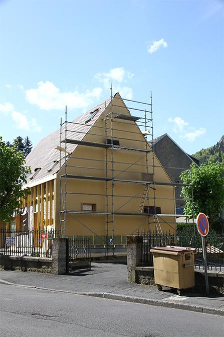 Maison individuelle en ossature bois tbbois construction for Maison individuelle en bois