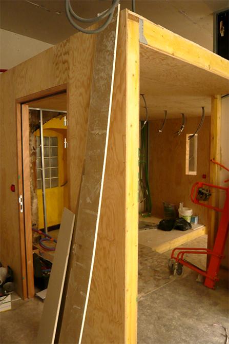Structure en ossature bois